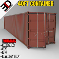 max 40ft container