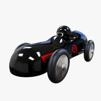3d toy car