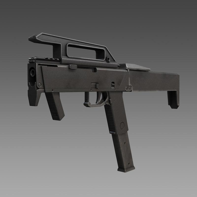 magpul fmg 9 submachine guns 3ds