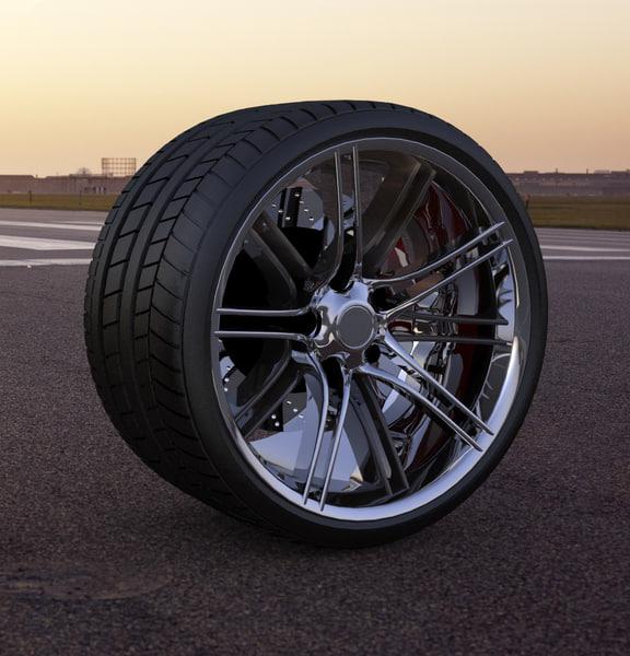 max custom wheel car