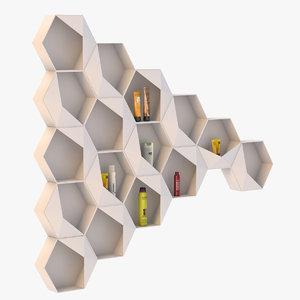 max honeycomb shelf