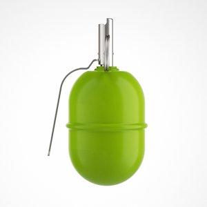 3d russian grenade model