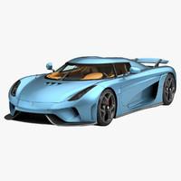 2016 koenigsegg regera car 3d obj