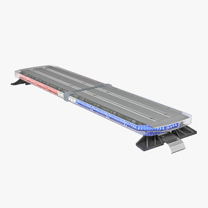 legacy lightbar 2 3d model
