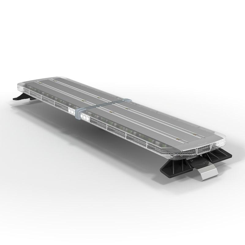 legacy lightbar 3d model