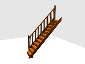 cinema4d staircase stop chamfer