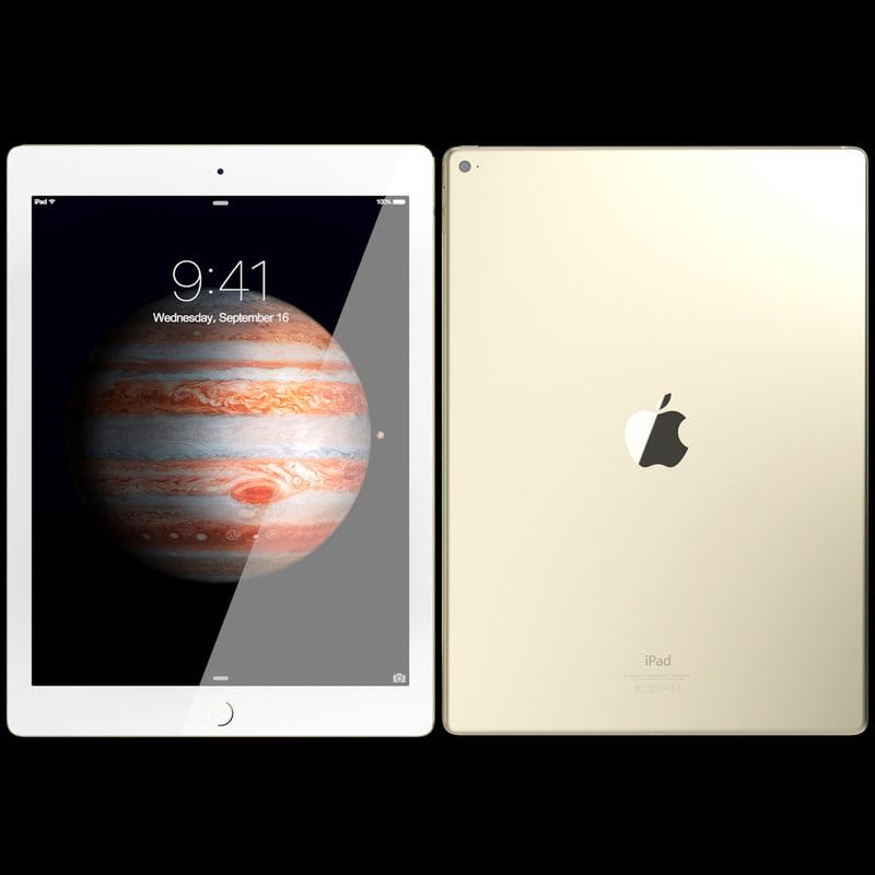 3dsmax realistic apple ipad pro