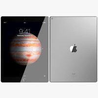 realistic apple ipad pro max