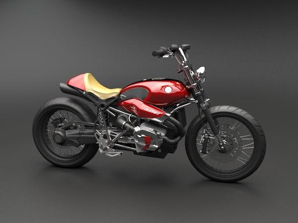 3d custom bike model