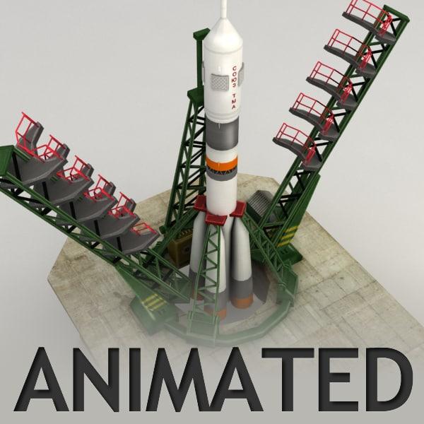 cosmodrome launch area 3d max