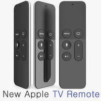 New Apple TV Remote 2015