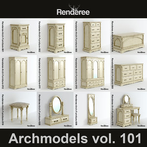 3d victorian furniture