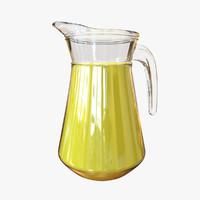 orange juice broc c4d