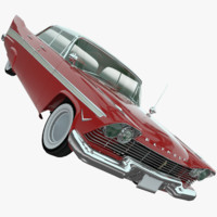 3d plymouth belvedere 1957