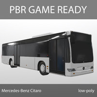 Mercedes-Benz Citaro PBR Game Ready