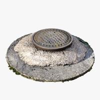 manhole scan 3ds