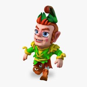 gnome rig 3d max