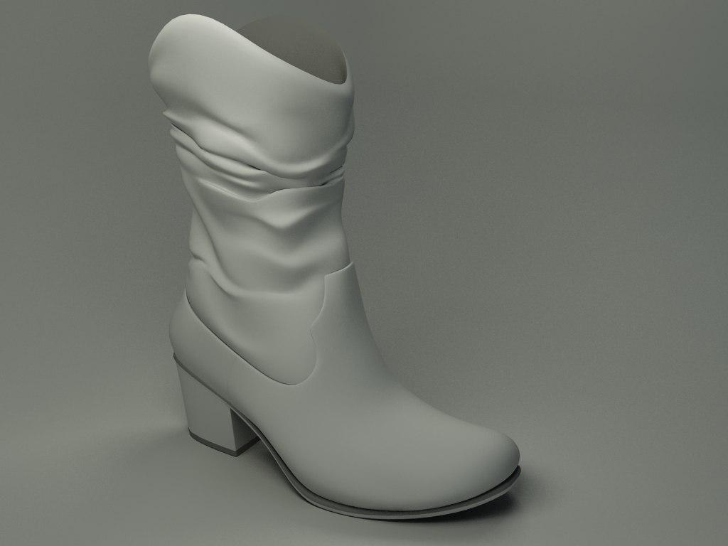 shoes-01 3d max