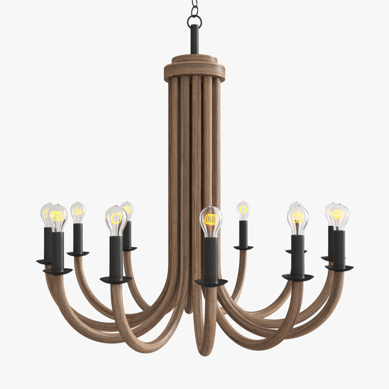 3d palermo chandelier