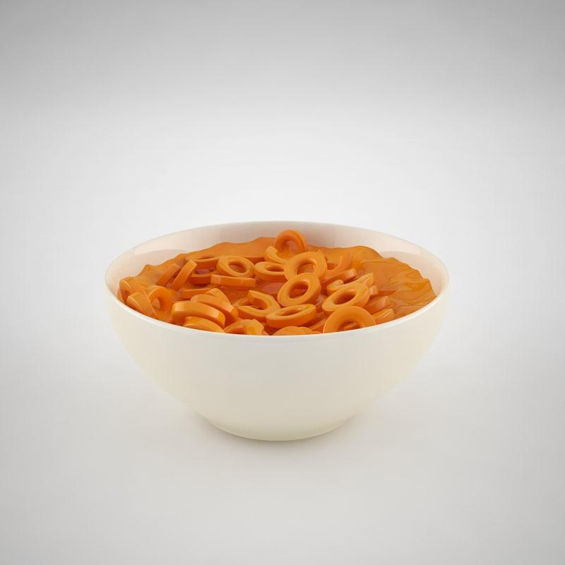 bowl spaghetti hoops 3ds