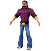 3d model macho man