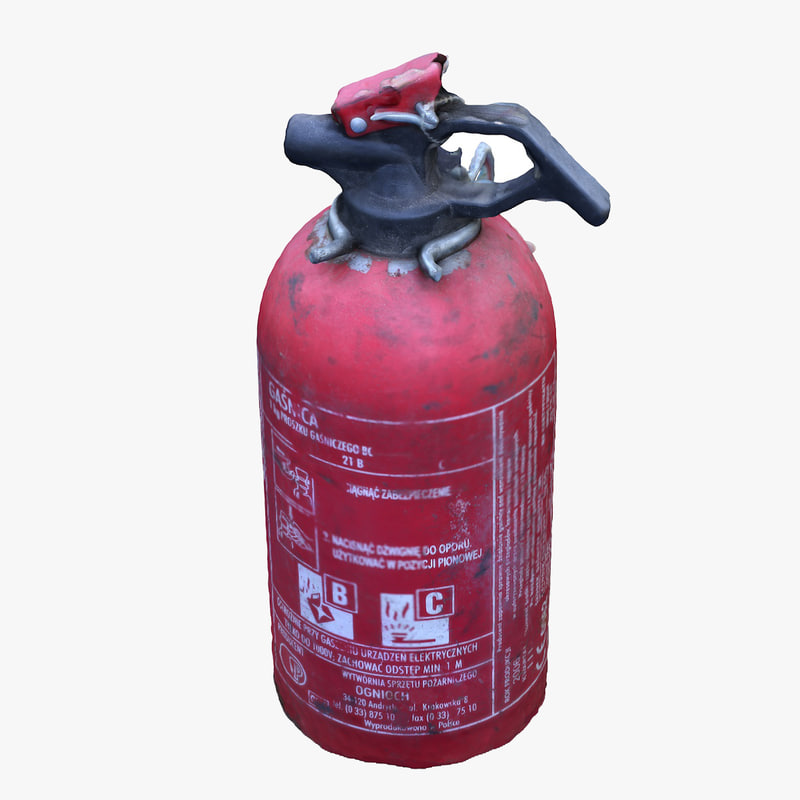3d extinguisher scan