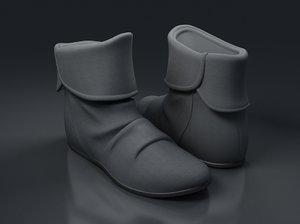 shoes-03 3d max