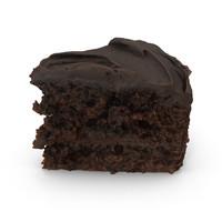 3d slice cake
