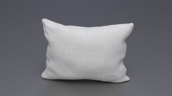 3d piped pillow