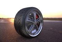custom wheel 3d x