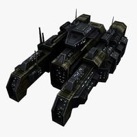 Civilian Transport Spaceship 4