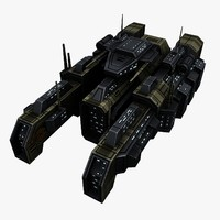 spaceship 3d max