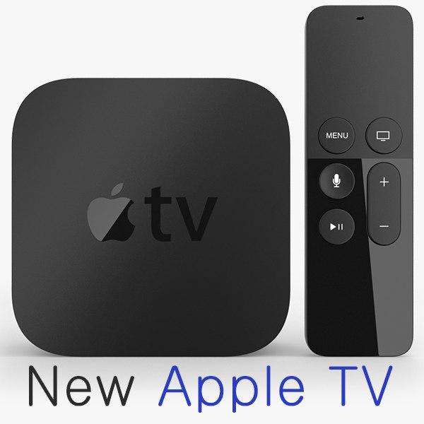 new apple tv 3d max