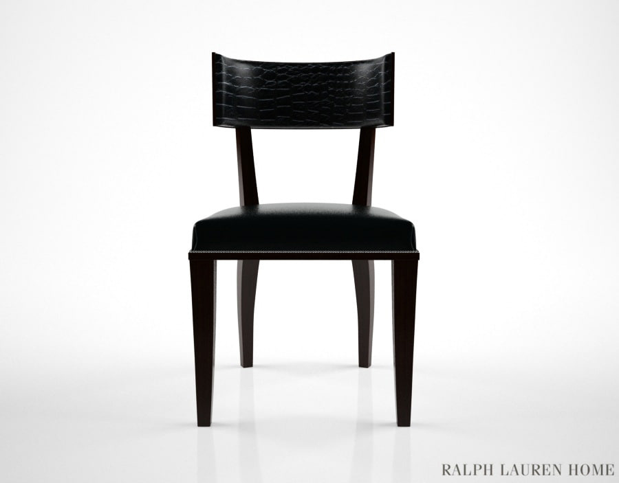 ralph lauren clivedon dining chair 3d model