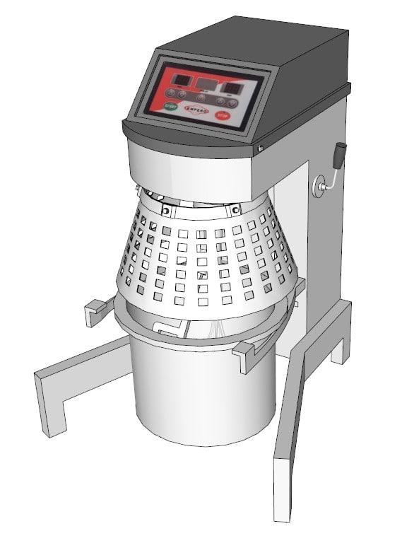 3d double circuit mixer model