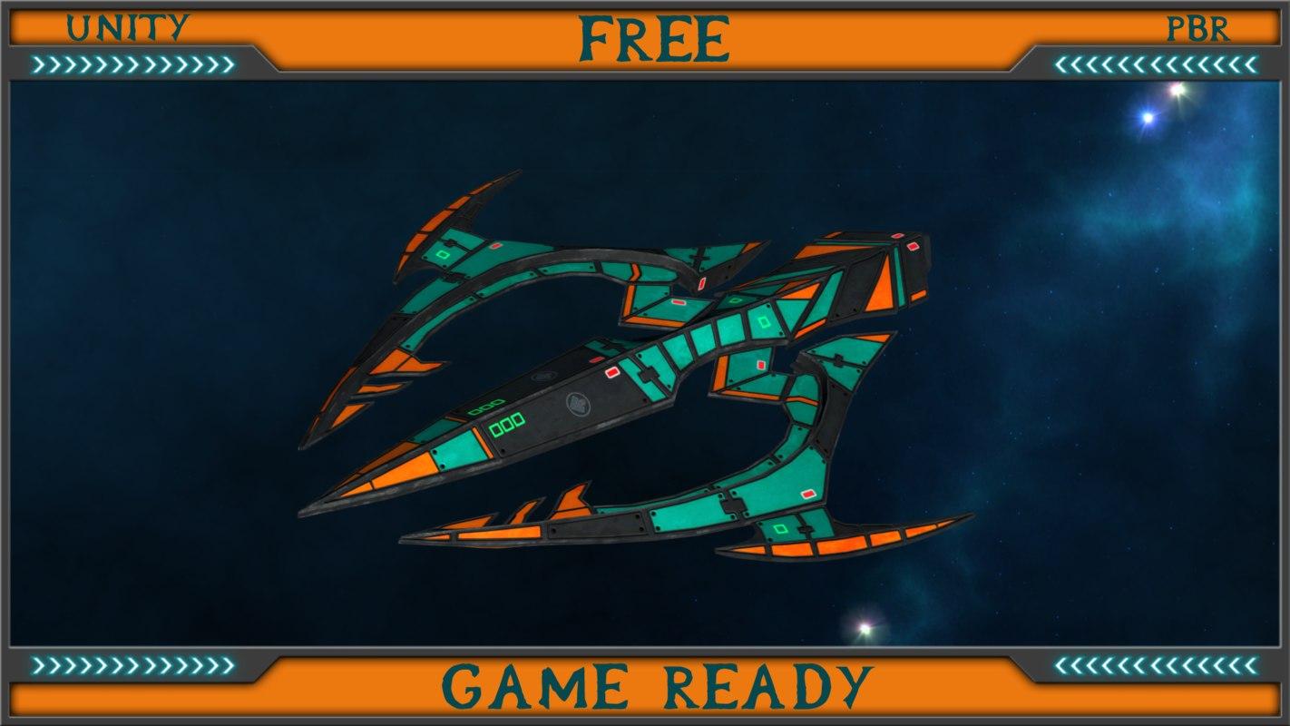 uav trident obj free