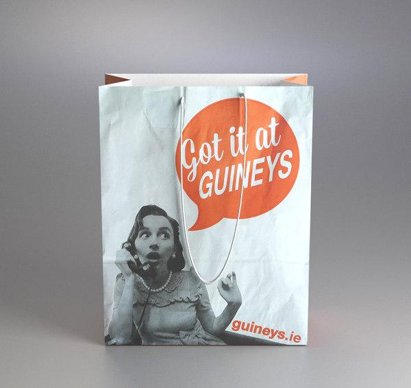 3d shopping bag guineys