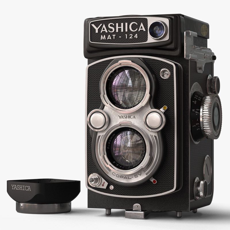 3d model yashica camera
