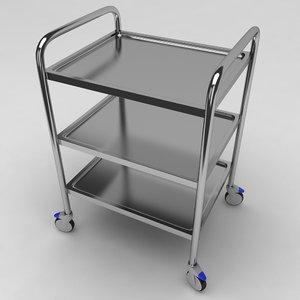 max medical equipment trolley