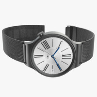 Huawei Watch 2 Dark Metal Band 3D Model