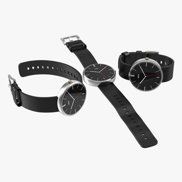 3ds max smartwatch moto 360 set