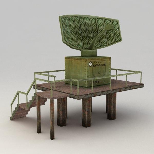 3d radar model