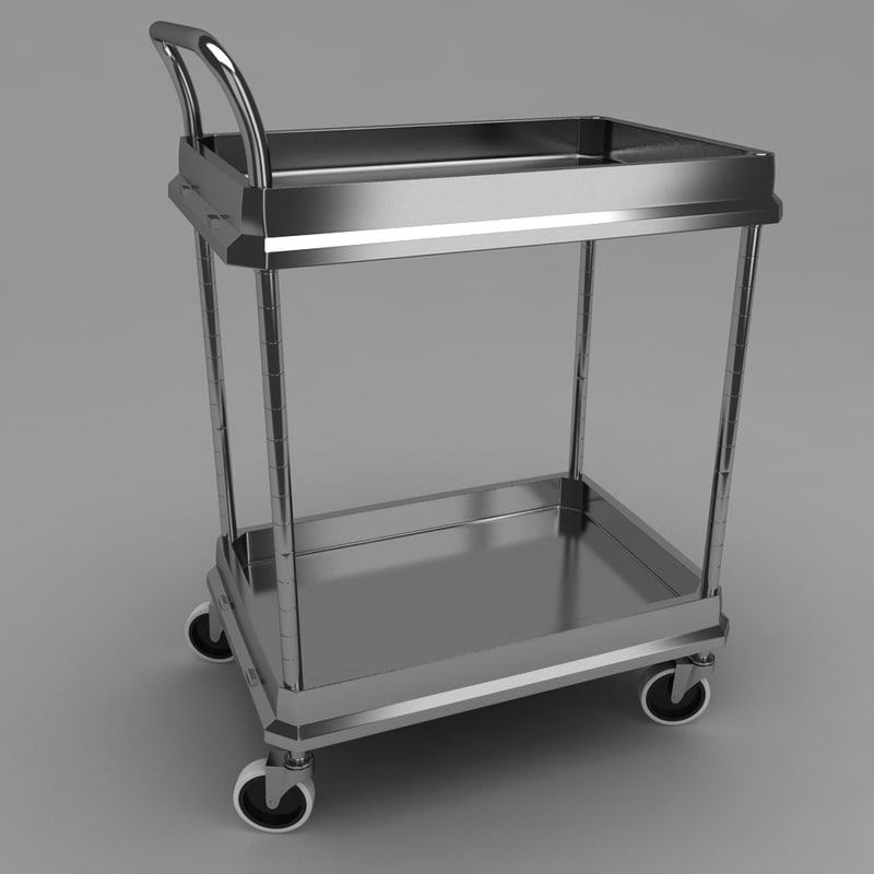 3ds max medical equipment trolley