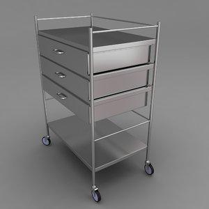 maya medical equipment trolley
