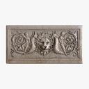 Greek Bas-relief - Lion