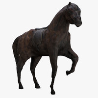 Horse 3d Scanned Sculpture