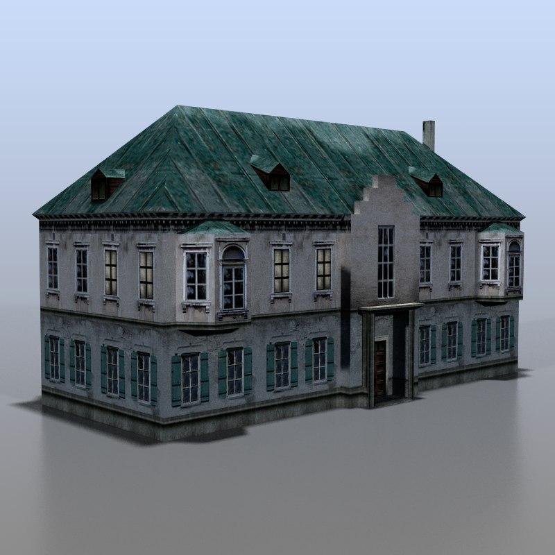 house baltic 3d model