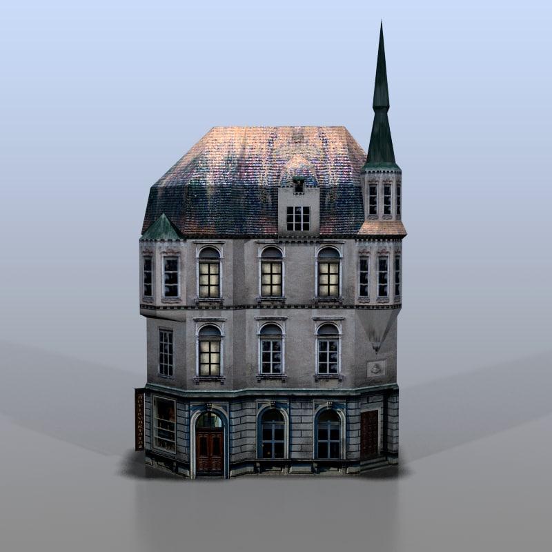 3d model house baltic