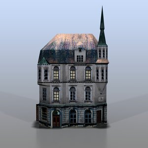 3d model house baltic