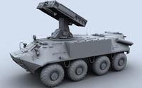 9k35m3-k sa-13 3d model